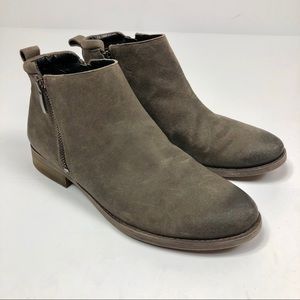 Franco Sarto Suede Haverly Chelsea Ankle Boots